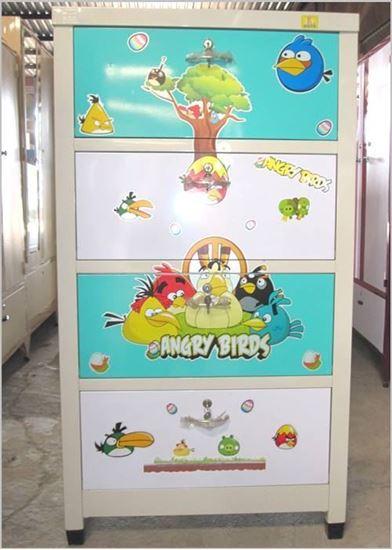 Tủ trẻ em 4 ngăn