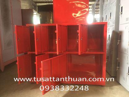 Tủ locker 7 ngăn 4 khoang - tủ locker giá rẻ