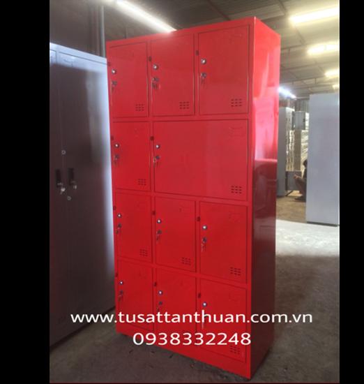 Tủ locker 11 ngăn 3 khoang - tủ locker giá rẻ