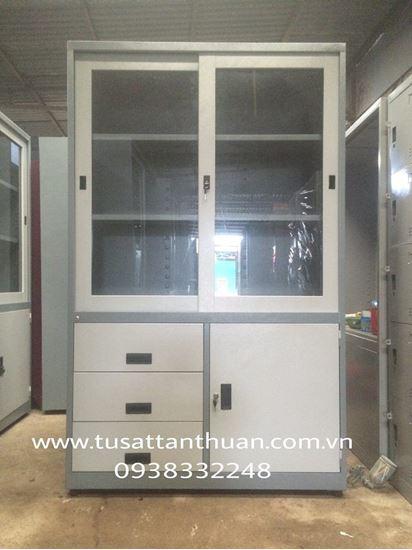 Tủ locker 2 cánh lùa TQD2CL