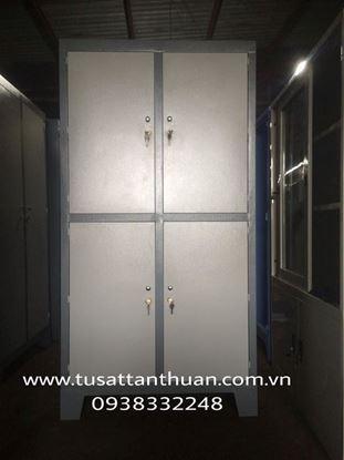 Tủ locker 4 cánh mở TQD4CM