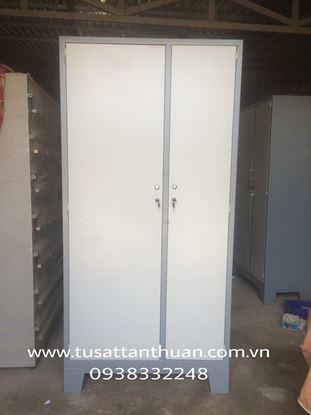 Tủ locker 2 cánh mở lệch TQD2CML
