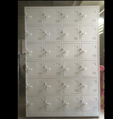 Tủ sắt locker đố nổi 24 ngăn 4 khoang TDN24C4K
