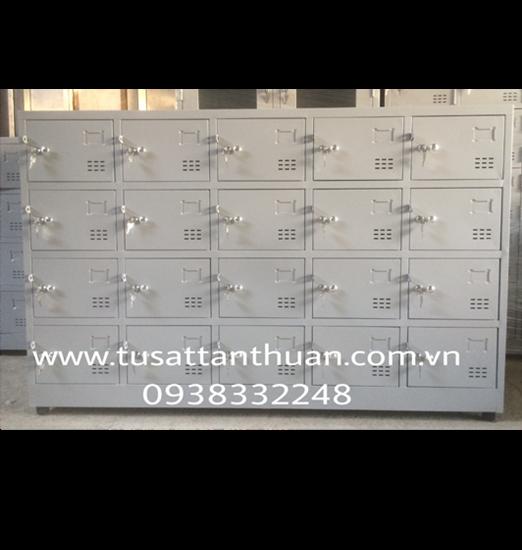 Tủ sắt locker đố nổi 20 ngăn 5 khoang TDN20C5K