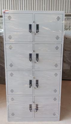 Tủ sắt đựng hồ sơ văn phòng 8 cửa mở tole TM08T