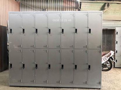 Tủ locker 14 ngăn 7 khoang 14C7K