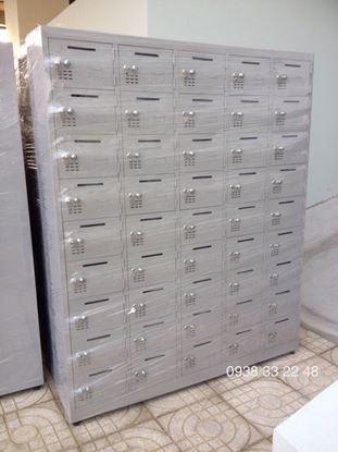 Tủ locker 45 ngăn 5 khoang 45C5K-TT