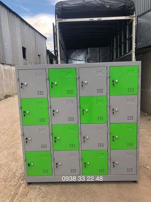 Tủ locker 20 ngăn 5 khoang 20C5KXX-TYC