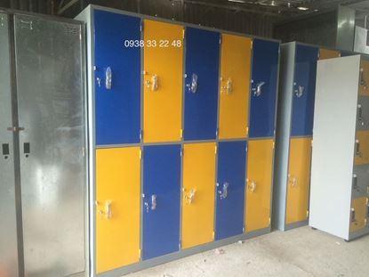 Tủ locker 10 ngăn 5 khoang ngăn trong 10C5KNT-TYC