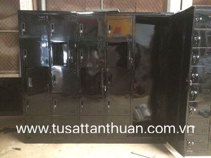 Tủ locker 21 ngăn 5 khoang 21C5KG-TYC