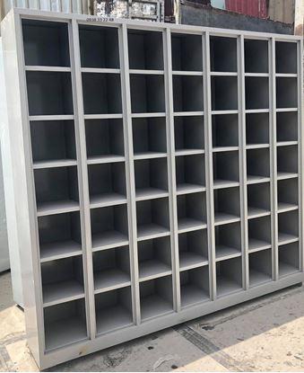 Kệ sắt đựng hồ sơ văn phòng 49 ngăn